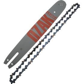 Guide avec chaîne 35cm pour tronçonneuse 3/8LP 1,3mm correpondance Oregon 140spea074
