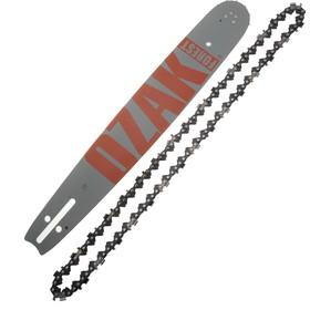 Guide avec chaîne 38cm pour tronçonneuse 325 1,5mm correspondance Oregon 158SLGK095