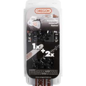 Combo Oregon guide 38cm 158PXBK095 + 2 chaines 21BPX064