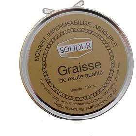 Graisse pour cuir Solidur en pot de 100ml