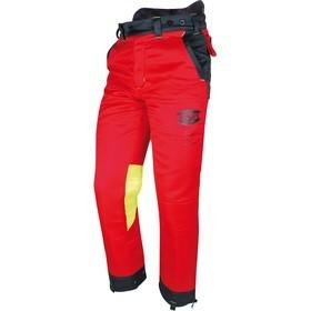 Pantalon professionnel adapté aux bûcherons Solidur Authentic Rouge