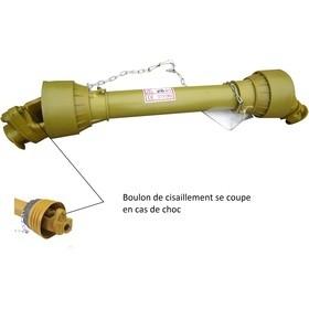 Cardan de transmission avec limiteur à boulon