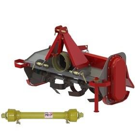 Fraise arrière rotative 102cm pour micro tracteur Morgnieux FMA105