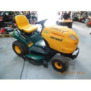 Tracteur tondeuse d 39 occasion bourg en bresse yardman - Tracteur tondeuse coupe frontale d occasion ...