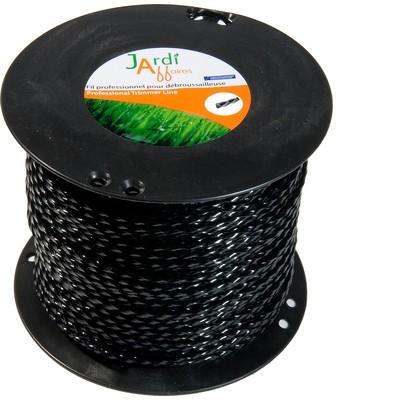 30 Brins de fil professionnel Torsade pour débroussailleuse 4mm 42cm