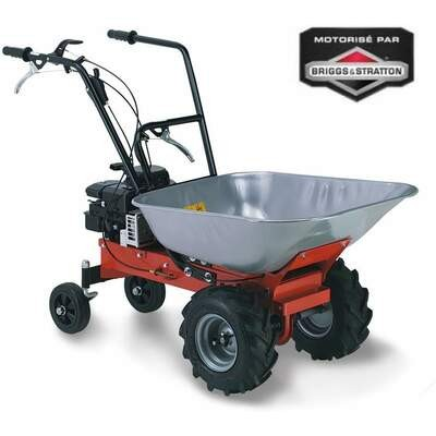 Brouette thermique Carry moteur Briggs&Stratton