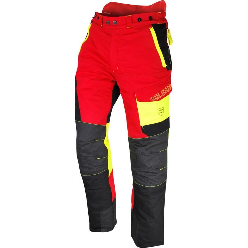 Pantalon professionnel confort adapté aux bucherons Solidur Comfy
