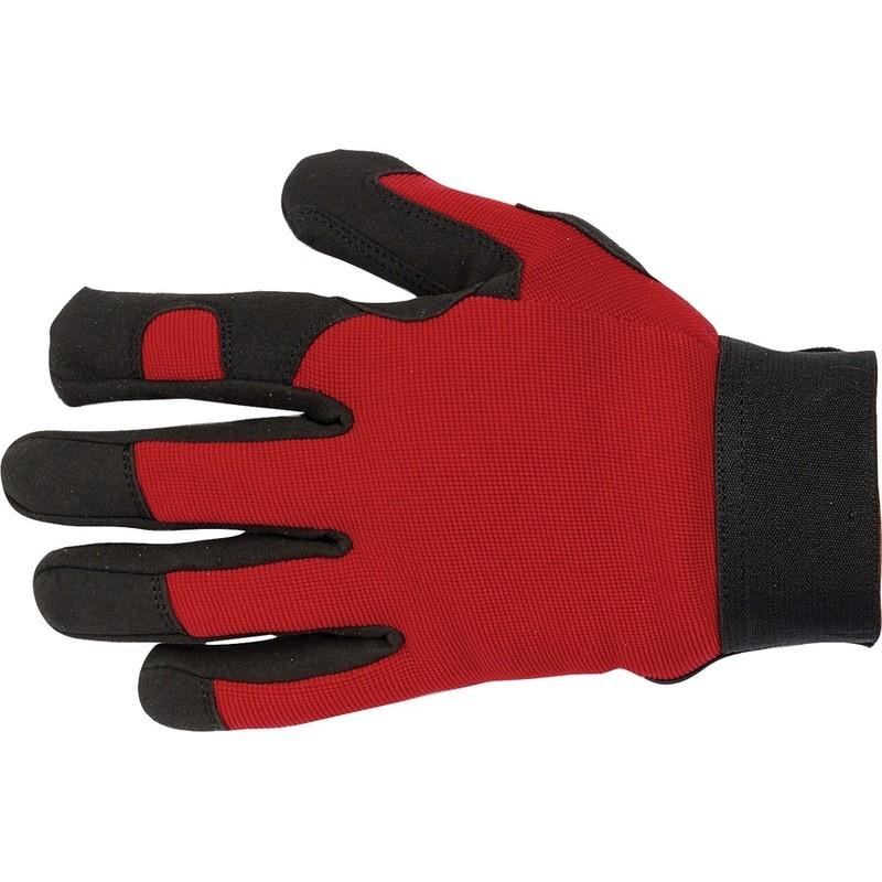 Paire de gants de travail multi- usages et débroussaillage Solidur