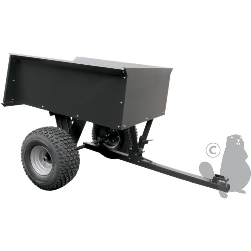 Remorque pour quads avec benne